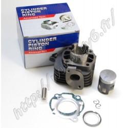 Kit cylindre 2T 50 cc, axe 12mm, haute qualite, avec piston au molybdene