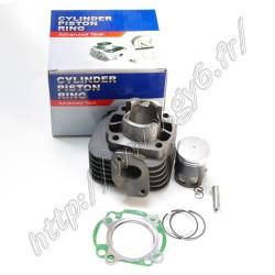 Kit cylindre 2T 50 cc, axe 10mm,  haute qualite, avec piston au molybdene