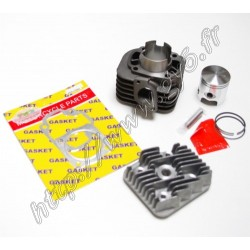 Kit cylindre fonte complet 2t 47mm 70cc, axe de piston 10mm