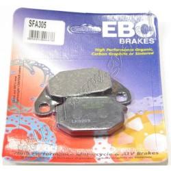 plaquettes de frein EBC avant Kymco agility city 50 ou 125