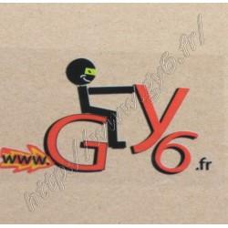 Sticker GY6.fr transparent