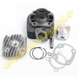 Kit cylindre fonte complet 2t 47mm 70cc, axe de piston 12mm