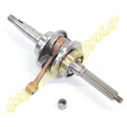 Vilebrequin 50cc 2t 16mm axe de piston 10mm