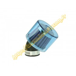 cornet 2t coude bleu 35mm