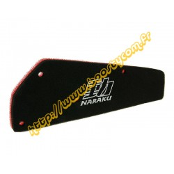 Filtre a air mousse Naraku 139qmb
