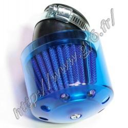 cornet 38mm coude bleu