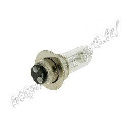 Ampoule de phare halogene P15D a colerette 50cc 12v 25w/25w