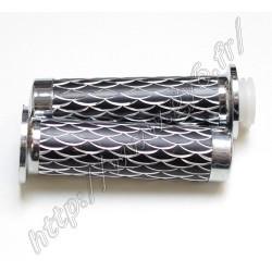 Poignees aluminium noires