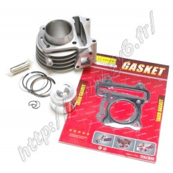 kit cylindre racing 47mm 72cc pour scooter chinois 50cc 4t