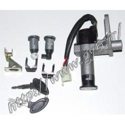 Kit serrures / barillets / neiman 125cc