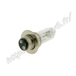 Ampoule de phare halogene P15D a colerette 50cc 12v 35w/35w