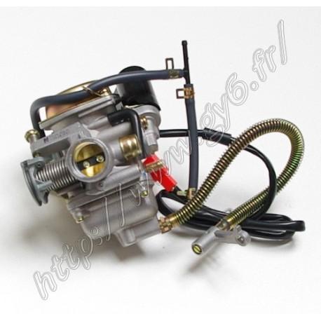 Carburateur 24mm origine moteur 1P52QMI (origine Jonway)