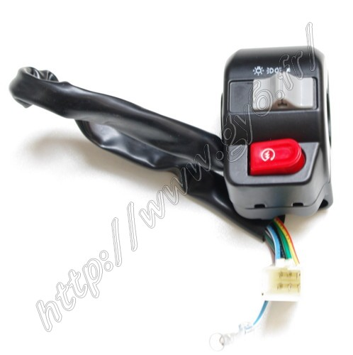 Commodo droit P2R pour Scooter Chinois 50 GY6 2005 à 2020 Neuf