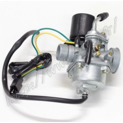 carburateur racing 2t 19mm, avec starter auto