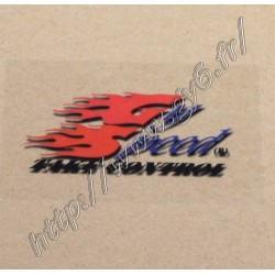 Sticker GYSPEED transparent