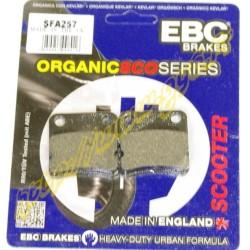 Plaquettes de freins EBC SFA257 SYM Orbit