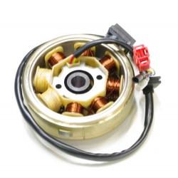 Schéma rotor / stator 8 poles 50cc