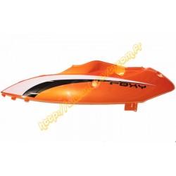 carenage lateral gauche superieur orange Sanli foxy