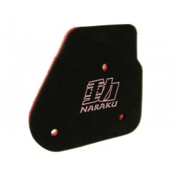 filtre a air mousse Naraku MBK nitro, Yamaha Neos