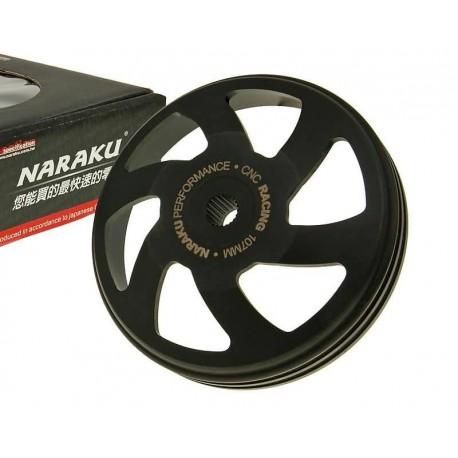 Cloche d'embrayage Naraku Racing usinée CNC 139QMB