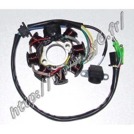 Alternateur, stator 8 poles 125cc