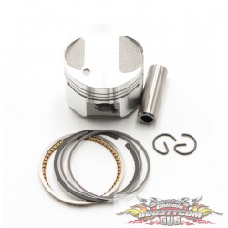 Kit piston compatible Peugeot Kisbee 4T D39 axe 10mm