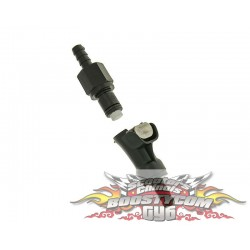 Raccord rapide de durite d'essence injection 6mm scooter Chinois gy6