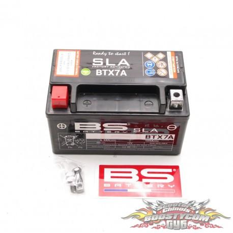 Batterie scooter Chinois BS YTX7A - BTX7A-SLA 12 volts 6.3 Ah