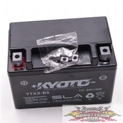 Batterie Kyoto GTX9-BS SLA ( YTX9-BS) Prête à l'Emploi 12V 8Ah