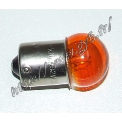 Ampoule de clignotants orange 12v 10w