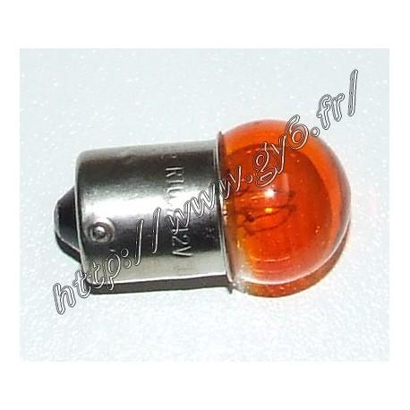 Ampoule de clignotants orange 12v 10w