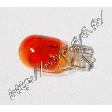 Ampoule de clignotant wedge orange 12v 10w