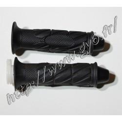 Paire de poignees caoutchouc modele B05