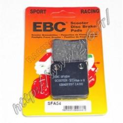 Plaquettes de frein racing EBC simple piston.