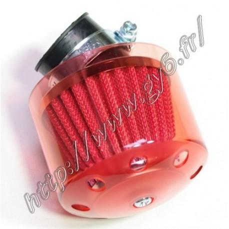 cornet 38mm coude rouge